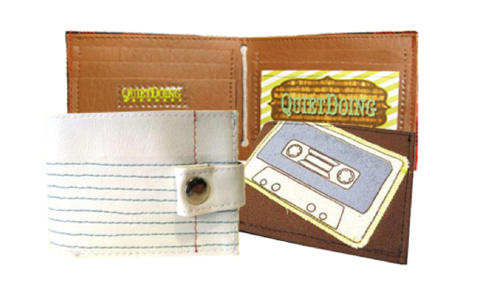 Brightwell Men's Shop's Quiet Doing wallet, $32