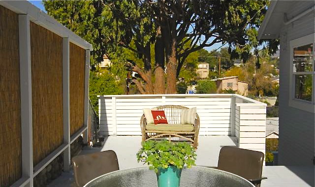 Patio. Courtesy of Sonya Coke – Sotheby's Los Feliz