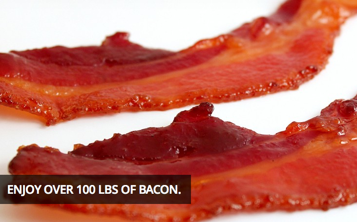 The Bacon Social in DTLA: Bring the TUMS and stretch pants