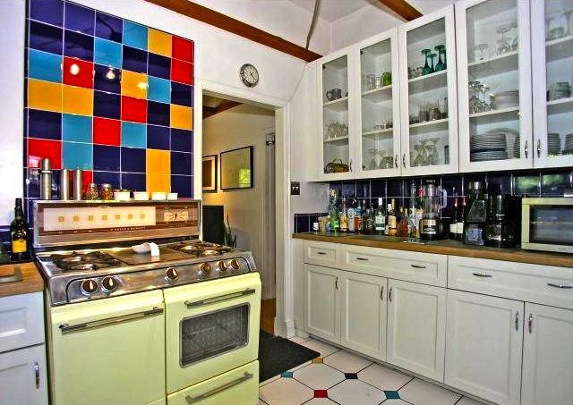 Ample kitchen storage