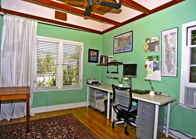 Second bedroom used as office