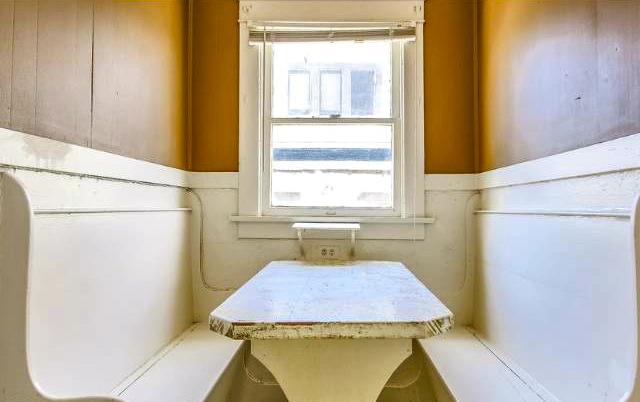 Original built-in breakfast bench