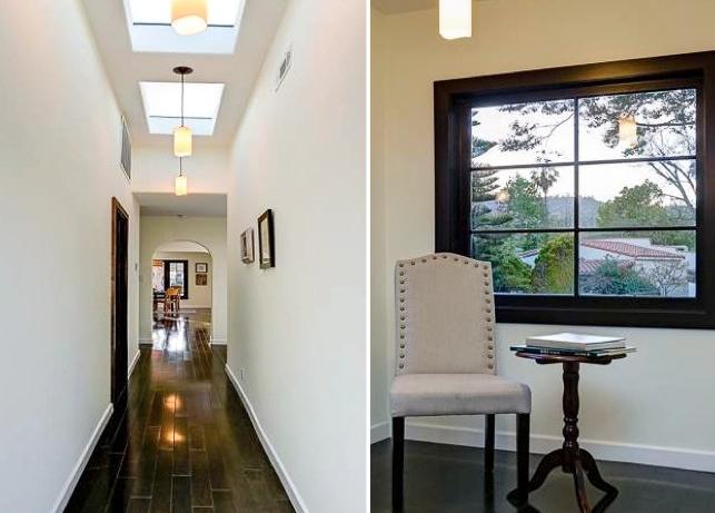 Details: Hallway skylights and windows