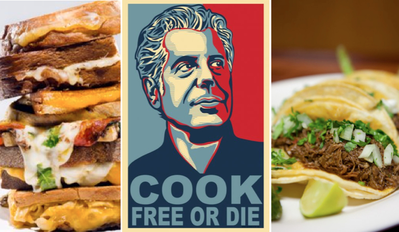 Cheese, Bourdain and Tacos