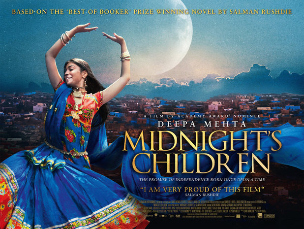 """Catch the critically acclaimed """"Midnight's Children"""" based on Salman Rushdie's novel."""