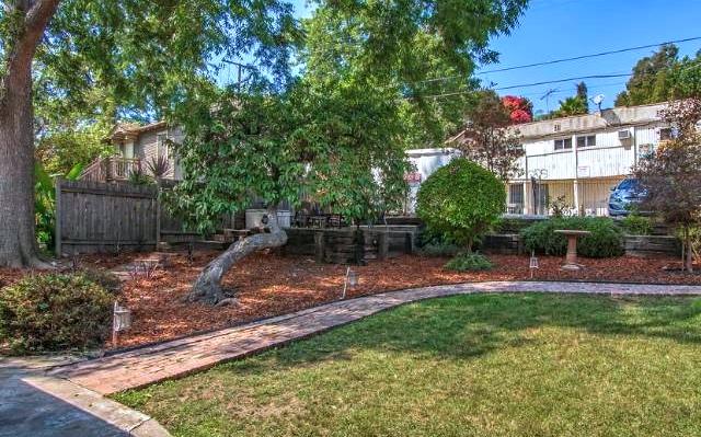 Spacious backyard and patio. Courtesy of Hattie Ramirez -- Coldwell Banker