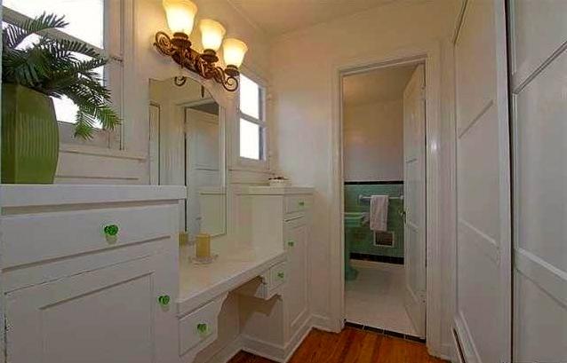 Original built-in vanity