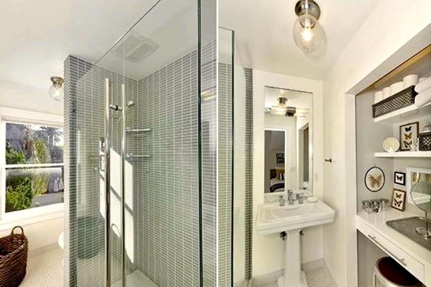 Bath with built-ins