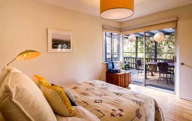 Bedroom with sun deck