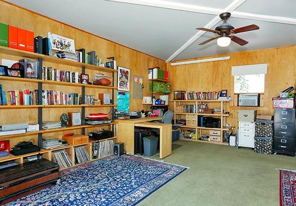 Semi-finished garage studio