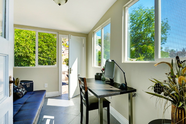 Office sun room