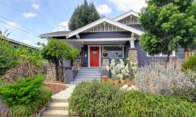 1914 California Bungalow: 6157 Springvale Dr., Los Angeles, 90042