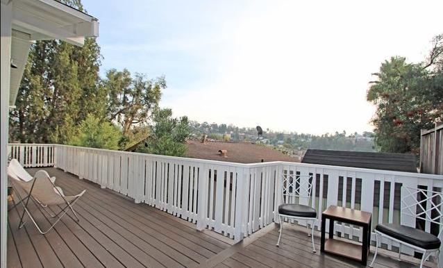 Double wide deck. Courtesy of Ken Shapiro – Silverwood Properties